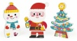 Janod Santa And Friends Funny Magnets