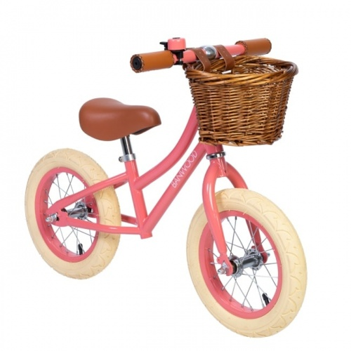 Banwood FIRST GO! Bike - Coral Pink