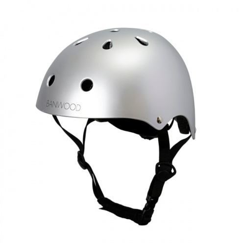 Banwood Classic Chrome Helmet