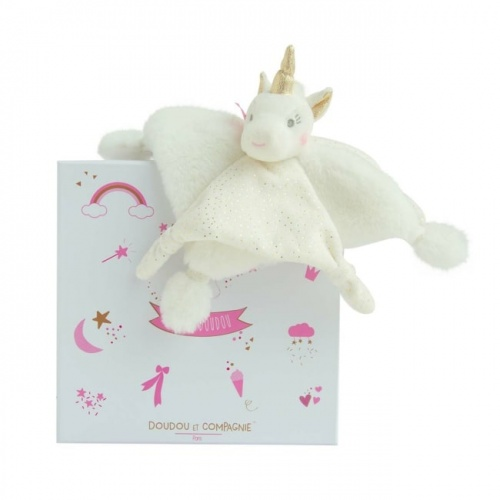 Doudou Unicorn - Gold