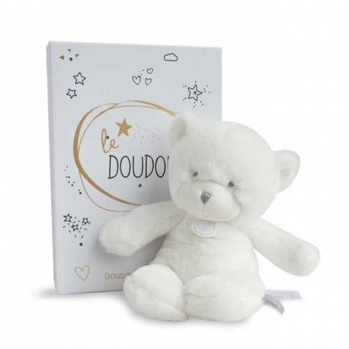 Le Doudou Pantin Bear Grey Box