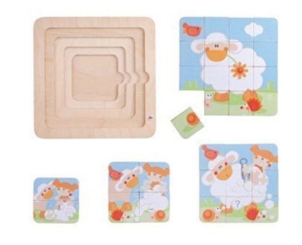 Sevi 4 In 1 Sheep Shearing Puzzle