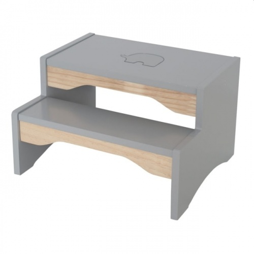 Jabadabado Step Stool In Grey