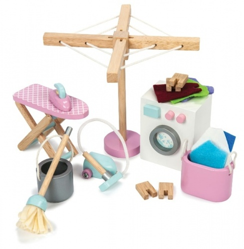 Le Toy Van Laundry Room Set