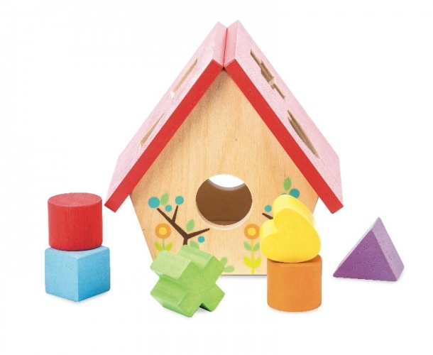 Le Toy Van My Little Bird House Shape Sorter