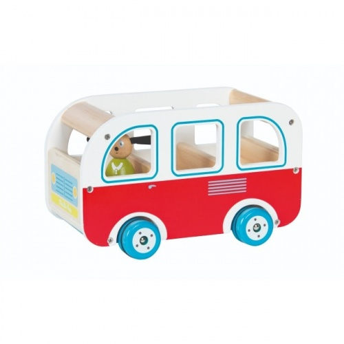 Moulin Roty Wooden Bus With Julius