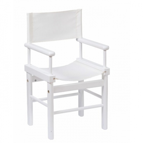 Moulin Roty White Directors Chair