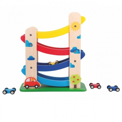 Moulin Roty Wooden Cascading Cars