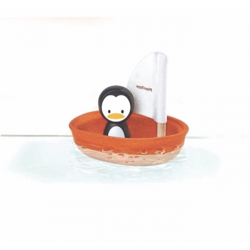 Plan Toys Penguin Sailing Boat