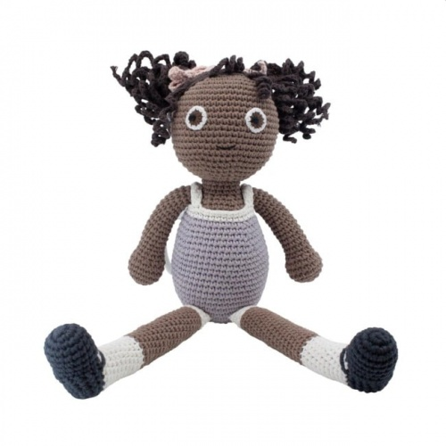 Sebra Crochet Poppy Doll