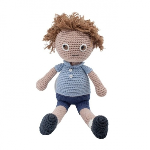 Sebra Crochet William Doll