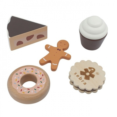 Sebra Food - Wooden Cakes & Cookies