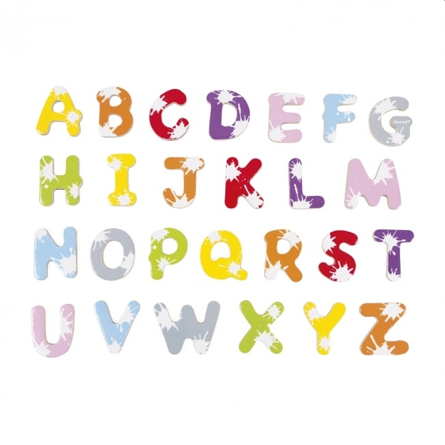 Janod Set Of 52 Splash Letters