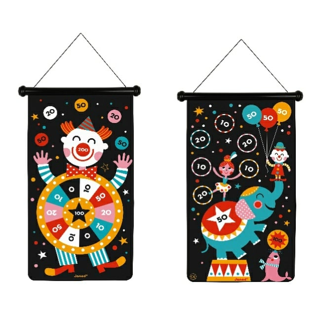 Janod Circus Magnetic Dart Game