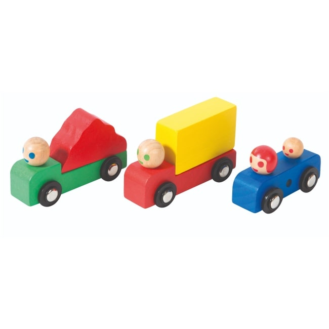 Moulin Roty Wooden Car & Trucks