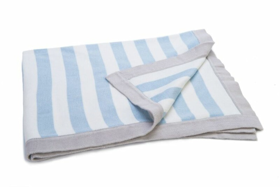 Ragtales Striped Blanket