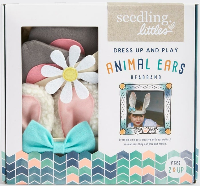 Seedling Littles - Dress Up & Play Animal Ears Headband