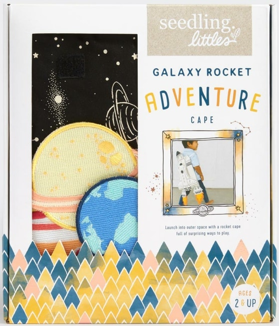 Seedling Littles - Galaxy Rocket Adventure Cape